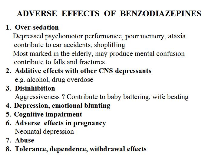 History of Benzodiazepines (3rd Maine Benzodiazepine Conference